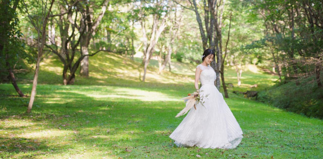 写真で残す結婚式!前撮りにも人気の「フォトウェディング」